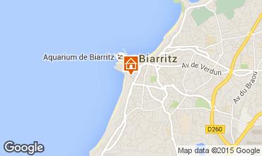 Mapa Biarritz Apartamentos 15275