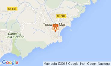 Mapa Tossa de Mar Apartamentos 72382