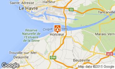Mapa Honfleur Estúdio 77332