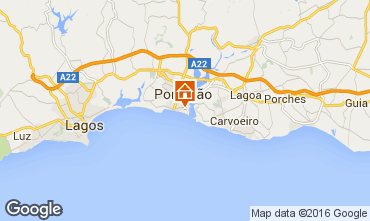 Mapa Praia da Rocha Apartamentos 72020