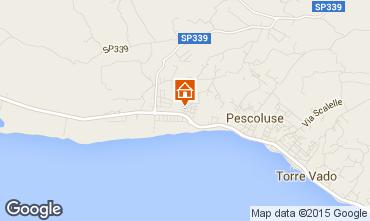 Mapa Pescoluse Apartamentos 86954