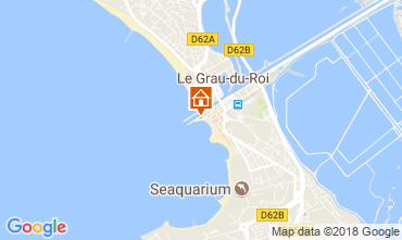 Mapa Le Grau du Roi Apartamentos 108003