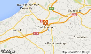 Mapa Deauville Casa de turismo rural/Casa de campo 77536