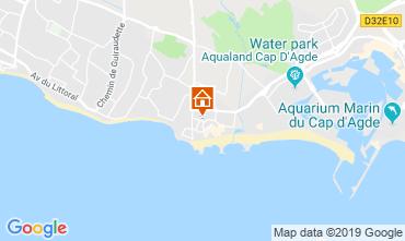 Mapa Cap d'Agde Apartamentos 99055