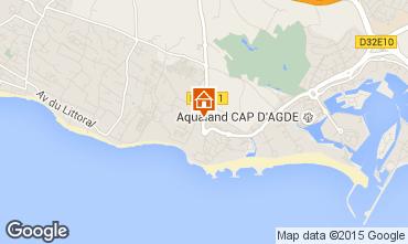 Mapa Cap d'Agde Vivenda 38995