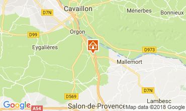 Mapa Eygalières Vivenda 76186