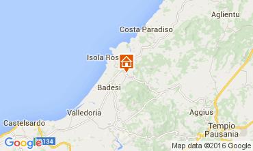 Mapa Isola Rossa Apartamentos 60142