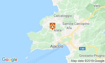 Mapa Ajaccio Casa 100009
