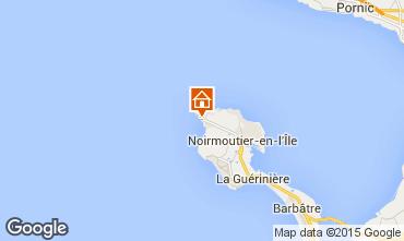 Mapa Noirmoutier en l'Île Apartamentos 31133