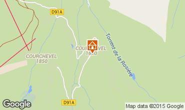 Mapa Courchevel Apartamentos 58749