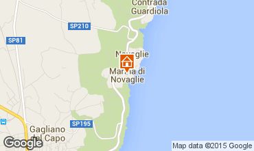 Mapa Marina di Novaglie Apartamentos 77582