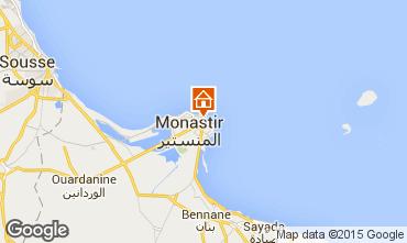 Mapa Monastir Apartamentos 87542