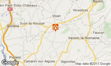 Mapa Vaison la Romaine Vivenda 85235