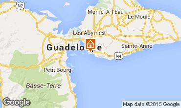 Mapa Gosier (Guadeloupe) Apartamentos 86341