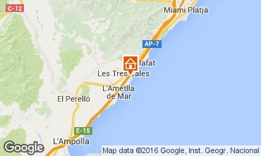 Mapa La Ametlla de Mar Vivenda 103289