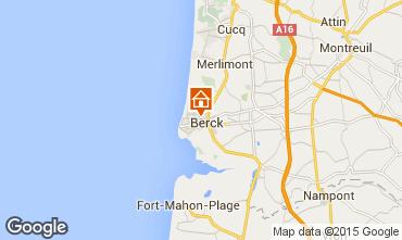 Mapa Berck-Praia Apartamentos 86477