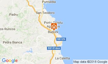 Mapa Budoni Apartamentos 111655