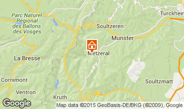 Mapa Colmar Chalé 27574