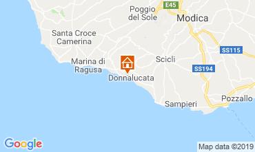 Mapa Donnalucata Apartamentos 119665