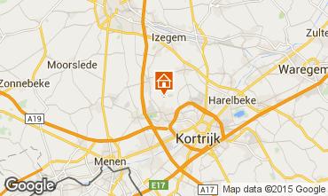 Mapa Kortrijk Casa de turismo rural/Casa de campo 78556