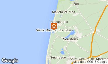 Mapa Vieux Boucau Apartamentos 68069