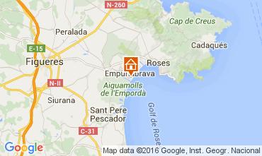 Mapa Empuriabrava Apartamentos 103925