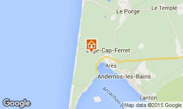 Mapa Cap Ferret Vivenda 92053