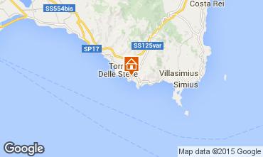 Mapa Villasimius Vivenda 97576