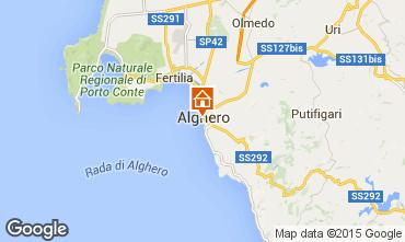 Mapa Alghero Apartamentos 98249