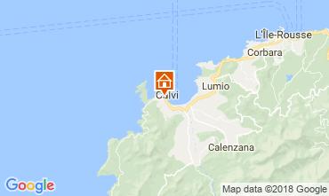 Mapa Calvi Apartamentos 115496