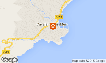 Mapa Cavalaire-sur-Mer Apartamentos 76489