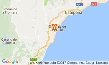 Mapa Manilva Apartamentos 111702