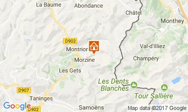 Mapa Morzine Chalé 112052