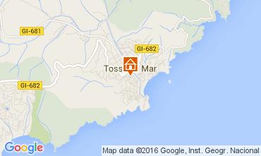 Mapa Tossa de Mar Apartamentos 98268