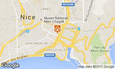 Mapa Nice Apartamentos 81029