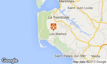 Mapa La Palmyre Mobil Home 81106