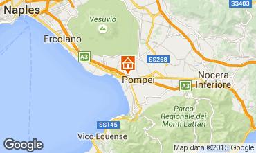 Mapa Pompeia Apartamentos 26954