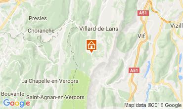 Mapa Villard de Lans - Corrençon en Vercors Apartamentos 3643