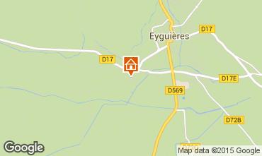 Mapa Eyguières Vivenda 92658
