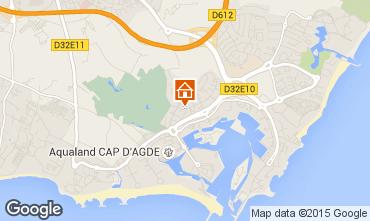 Mapa Cap d'Agde Apartamentos 85152