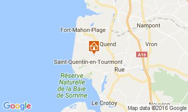 Mapa Quend Praia Casa de turismo rural/Casa de campo 106293