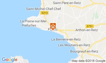 Mapa Pornic Casa 116480