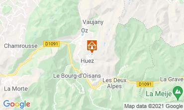 Mapa Alpe d'Huez Estúdio 80613