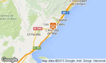 Mapa La Ametlla de Mar Apartamentos 64059