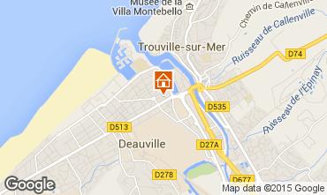 Mapa Deauville Apartamentos 7628