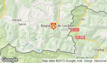 Mapa Luchon Superbagneres Apartamentos 59657