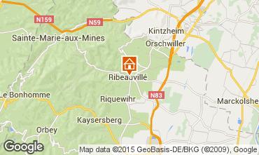 Mapa Ribeauvillé Apartamentos 74066