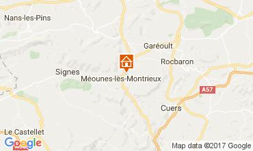 Mapa Hyères Vivenda 82417