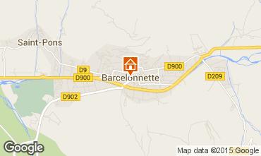 Mapa Barcelonnette Estúdio 90072