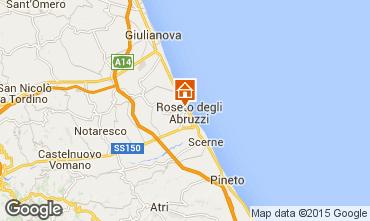 Mapa Roseto degli Abruzzi Apartamentos 30012